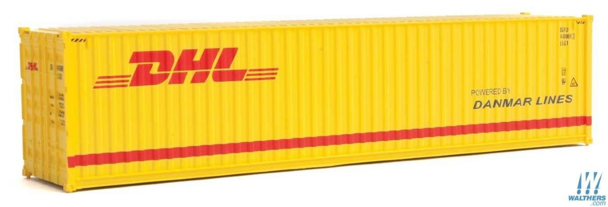 40' Hi-Cube Container DHL, Walthers